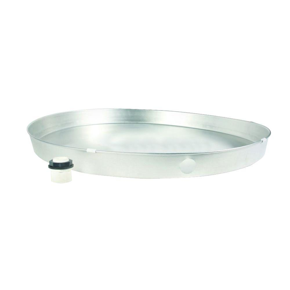 Everbilt 22 in. Aluminum Drain Pan