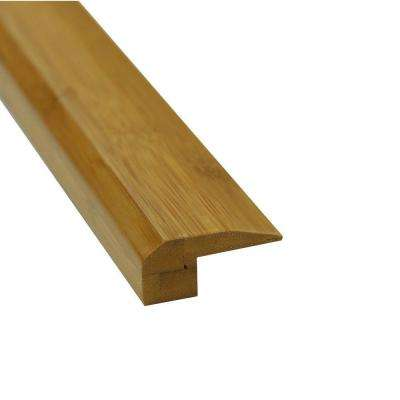 Carbonized 3/4 in. Thick x 2 in. Wide x 78-3/4 in. Length Bamboo Threshold Molding
