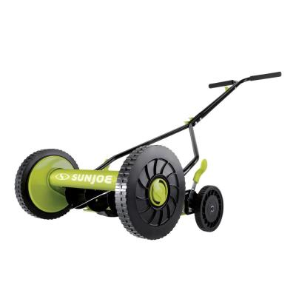 14 in. Classic Quad Wheel 9-Position Manual Walk-Behind Reel Mower