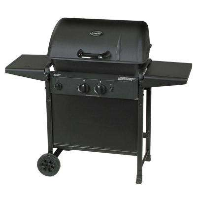 2-Burner Propane Gas Grill with Side Burner