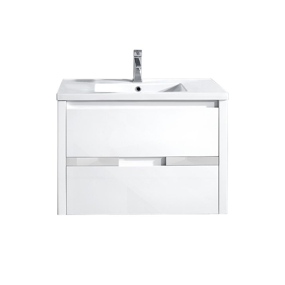 Delicieux OVE Decors Chiara 32 In. W X 19.1 In. D Vanity In White With Resin Vanity  Top In White With White Basin CHIARA   The Home Depot