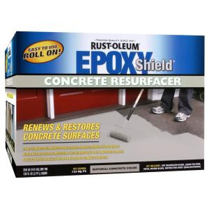 rust oleum epoxyshield 1 gal concrete resurfacer kit 244025 the home depot. Black Bedroom Furniture Sets. Home Design Ideas