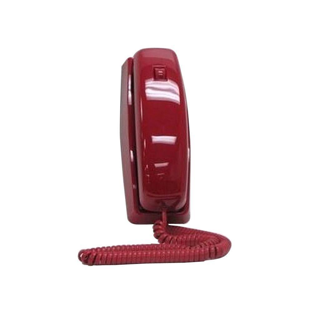 Cortelco Trendline Corded Telephone - Red