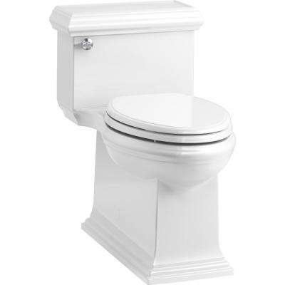 Memoirs Classic 1-Piece 1.28 GPF Single Flush Elongated Toilet in White, Seat Included