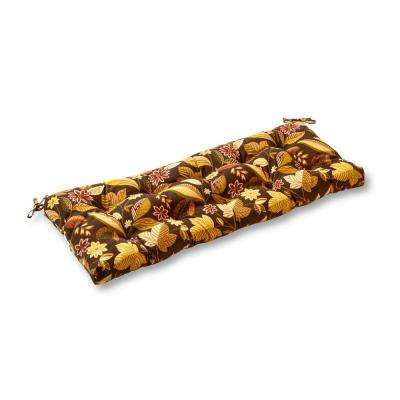 Timberland Floral Rectangle Outdoor Swing/Bench Cushion