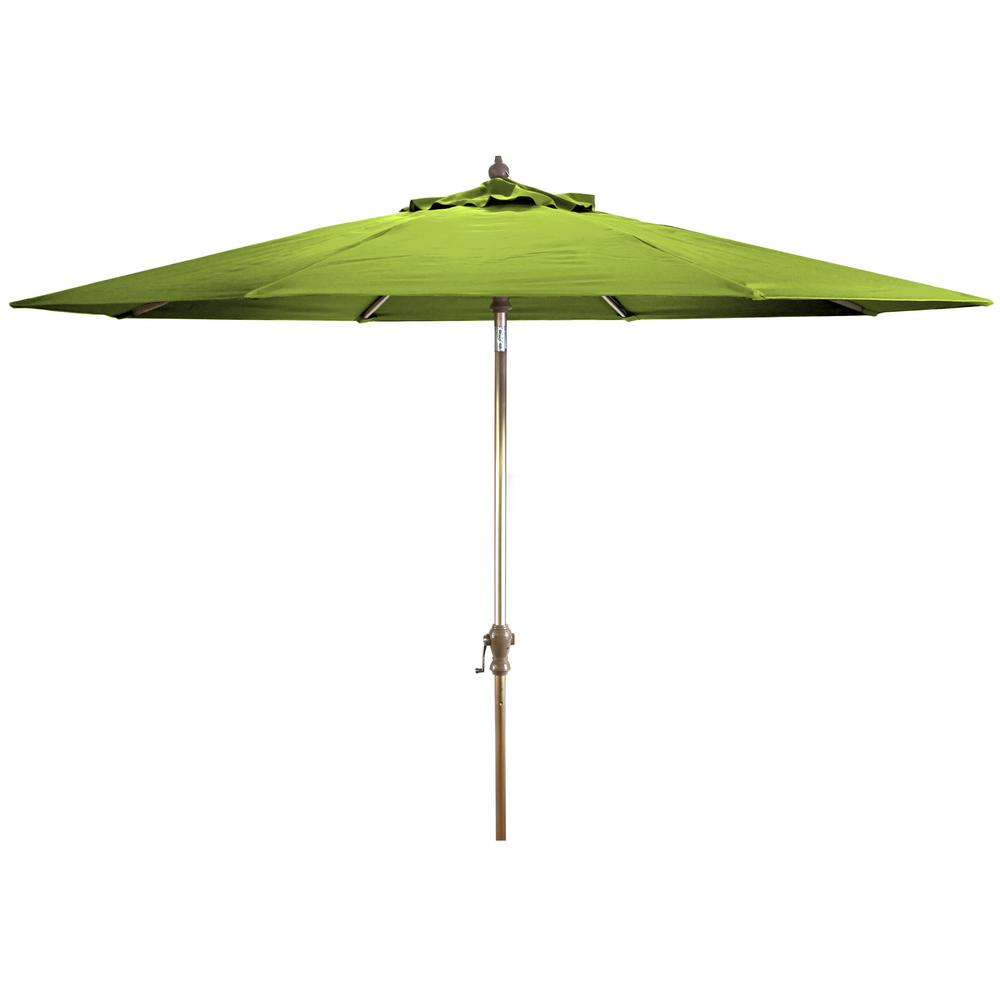 Jordan Manufacturing Market 9 Ft Steel Tilt Patio Umbrella In Macaw Canvas