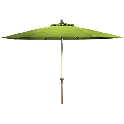Market 9 ft. Steel Market Tilt Patio Umbrella in Macaw Canvas