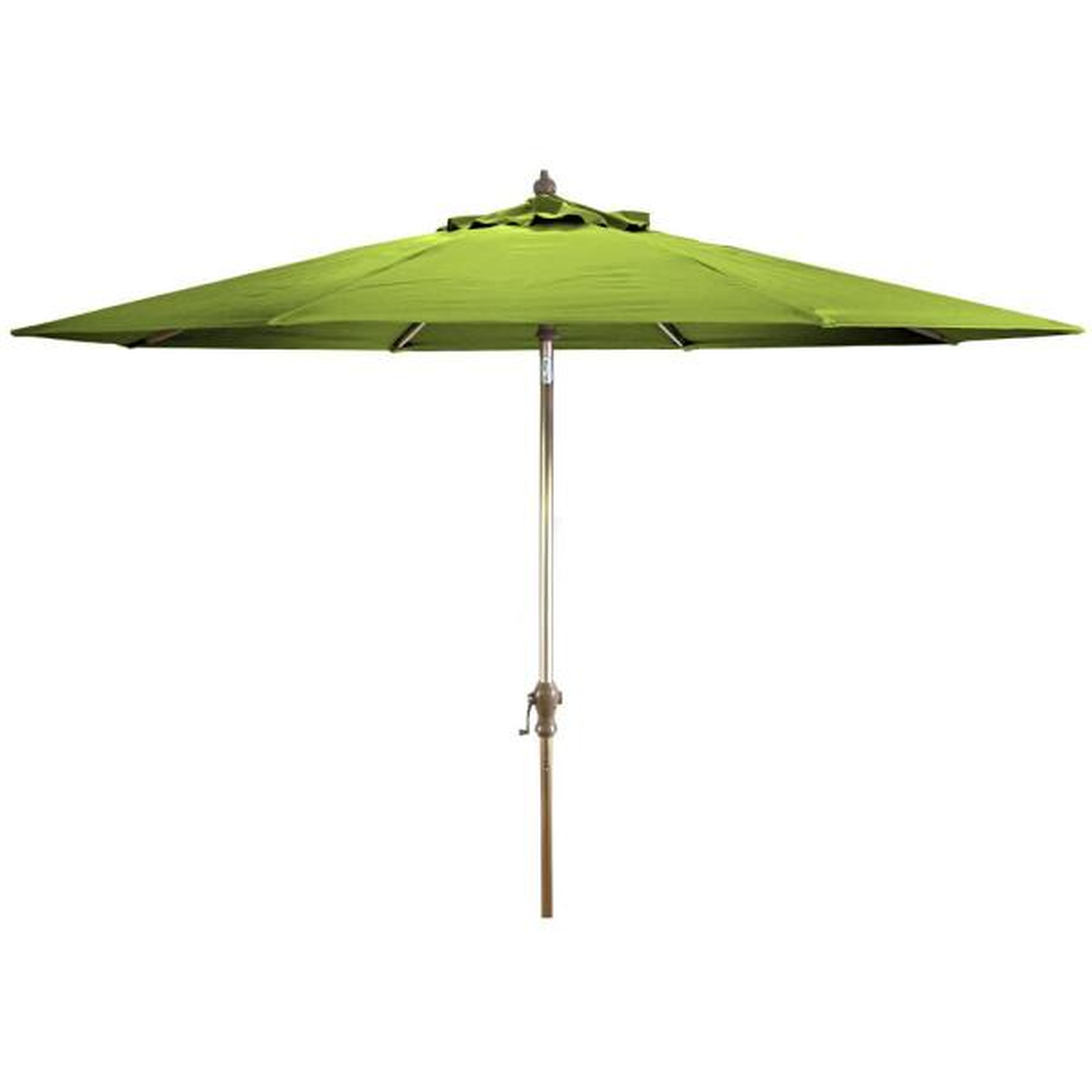 Market 9 ft. Steel Market Tilt Patio Umbrella in Macaw Canvas