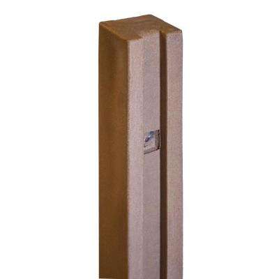5 in. x 5 in. x 8-1/2 ft. Ashland Red Cedar Composite Fence Gate Post