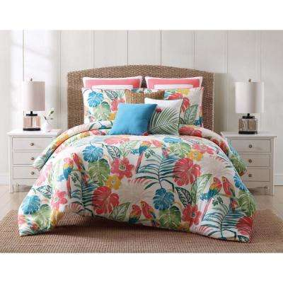 Coco Paradise King Duvet Set