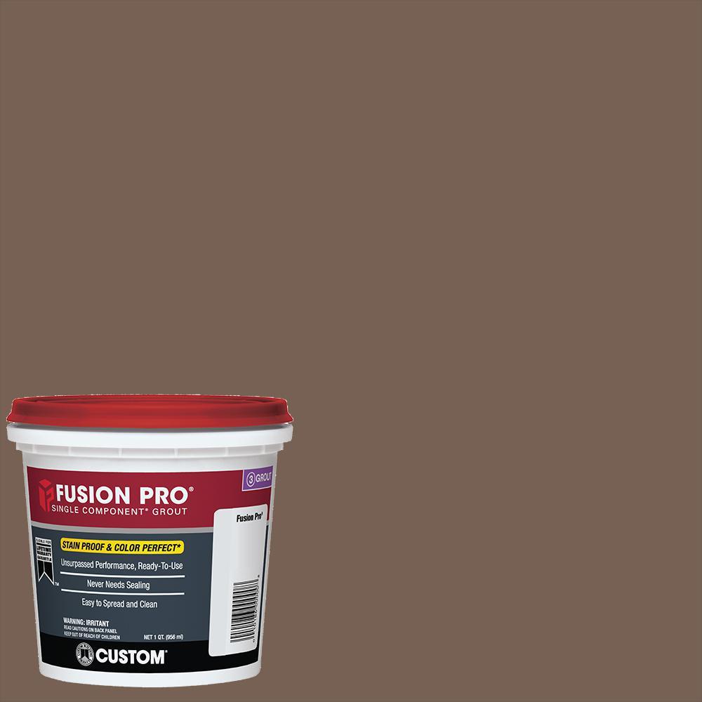 Fusion Pro #52 Tobacco Brown 1 Qt. Single Component Grout