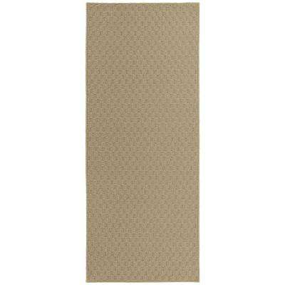 Town Square 2 ft. x 5 ft. Runner Area Rug Tan