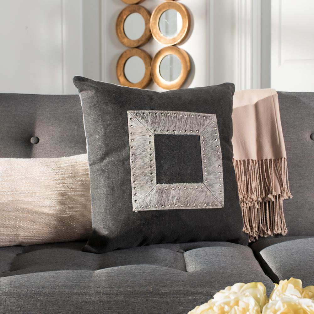 Safavieh Laurel Cowhide Standard Pillow PLS233A-2020