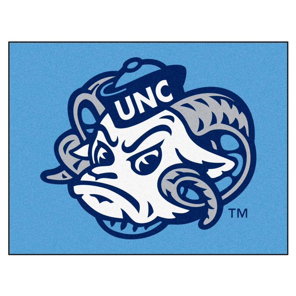 NCAA University of North Carolina Chapel Hill Blue 2 ft. 10