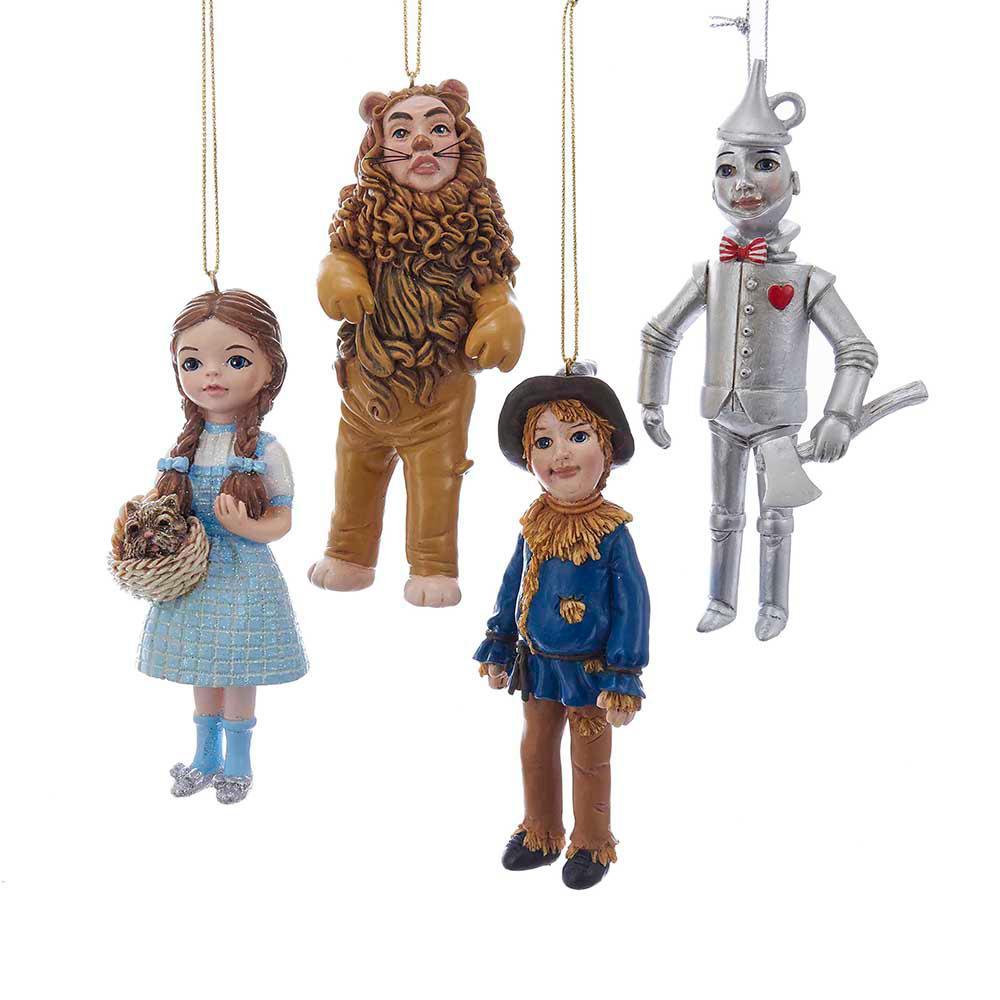 Kurt Adler 6 in. Wonderful Wizard of Oz Ornament Set of 4