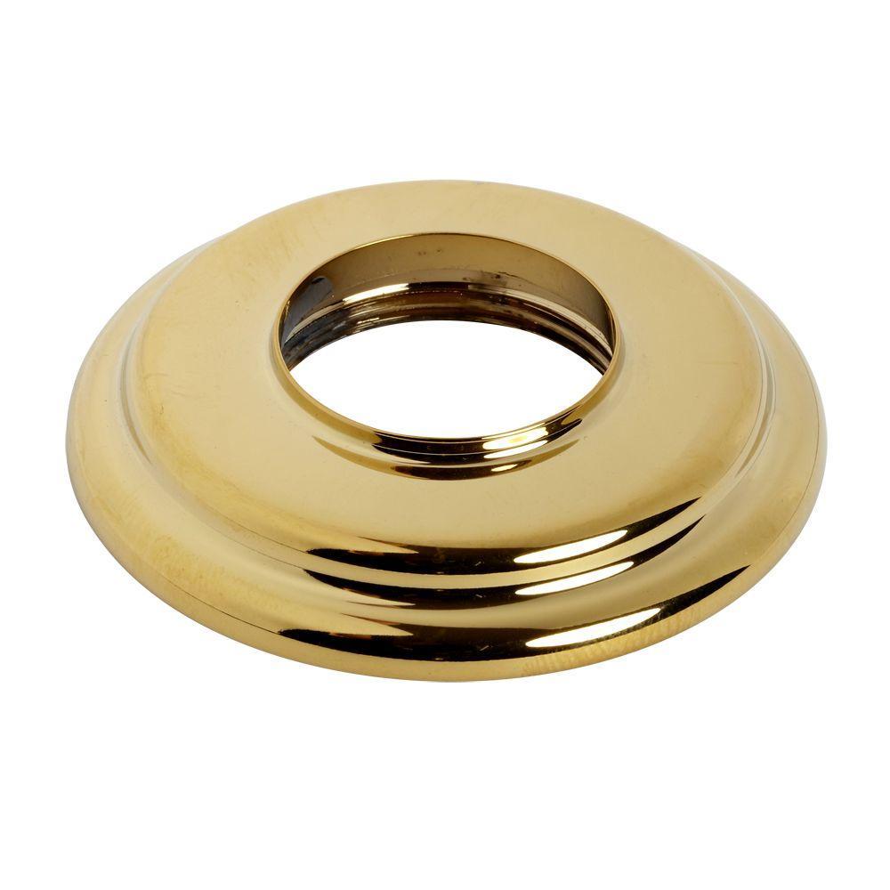 Hampton Escutcheon Kit, Polished Brass