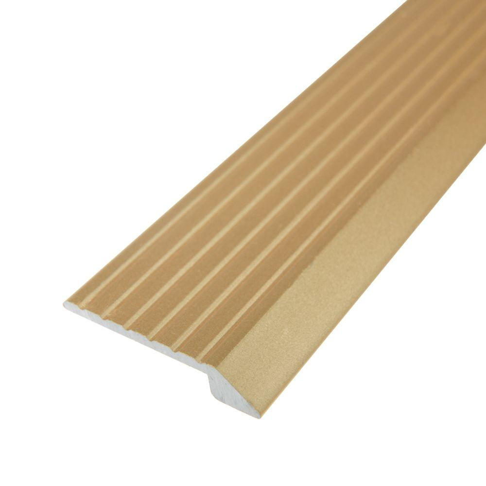 TrafficMASTER Gold 3/4 in. x 36 in. Tile/Vinyl Transition Strip