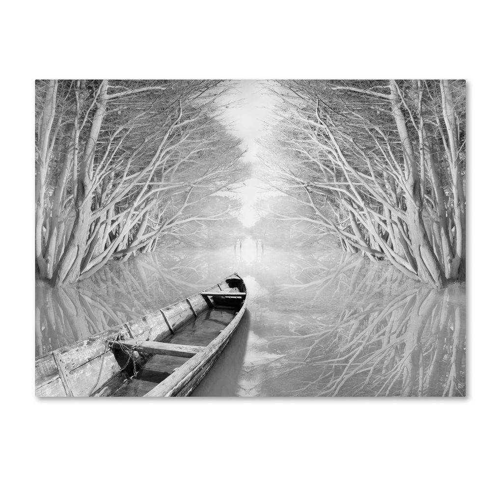 35 in. x 47 in. Welcome Canvas Art