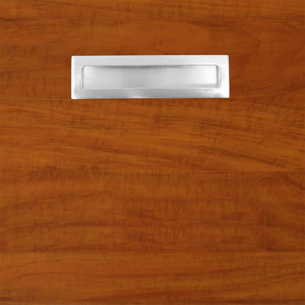 12.75x12.75x.75 in. Genoa Ready to Assemble Cabinet Door Sample in Cognac