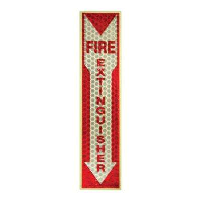 Luminous Fire Extinguisher Sign
