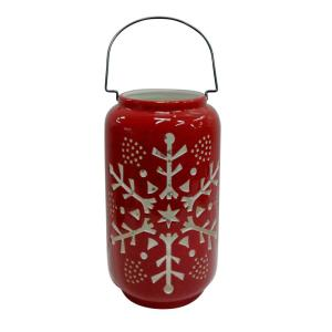 12 in. H Snowflake Luminary