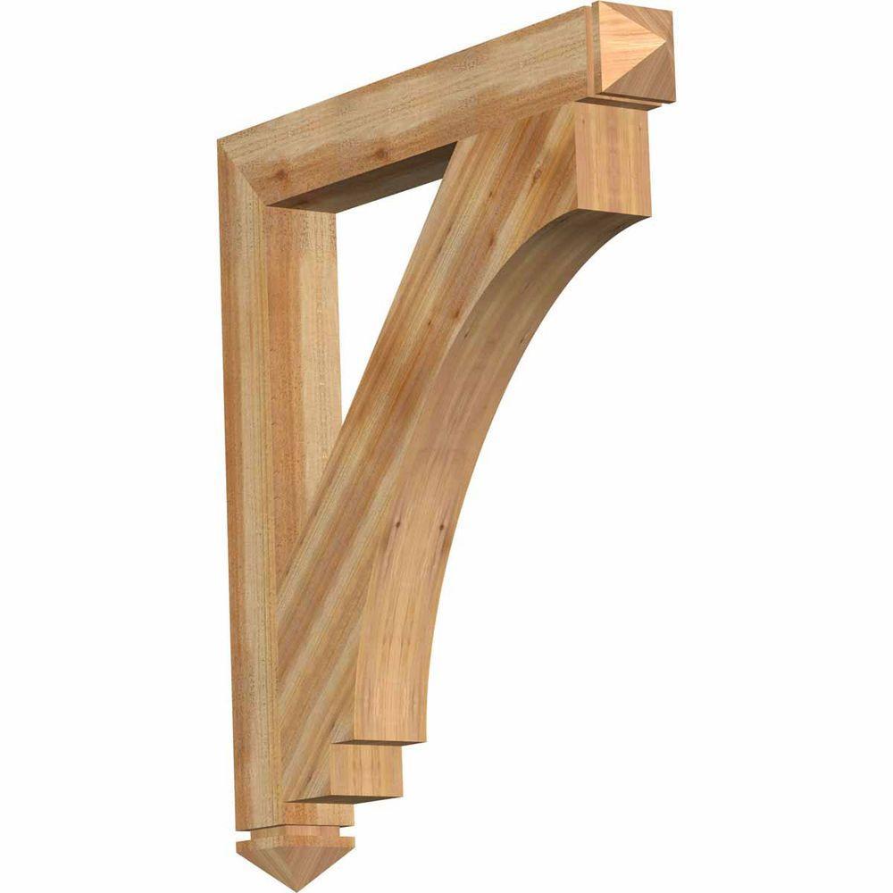 4 in. x 36 in. x 32 in. Western Red Cedar