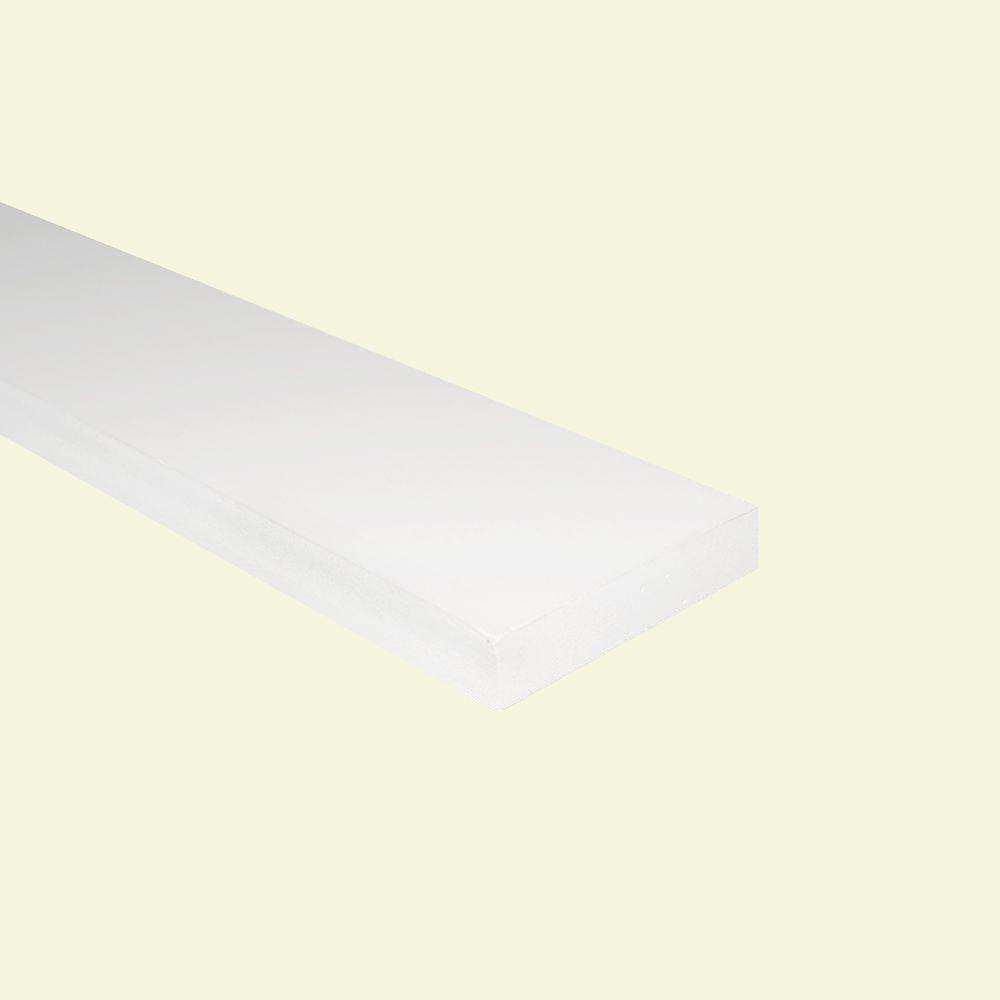 AZEK Trim 3/4 in. x 3-1/2 in. x 8 ft. S2STrim PVC Board
