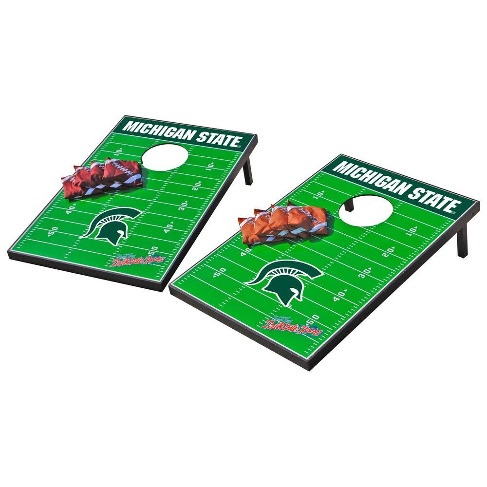 Wild Sports Michigan State Spartans Tailgate Cornhole Toss