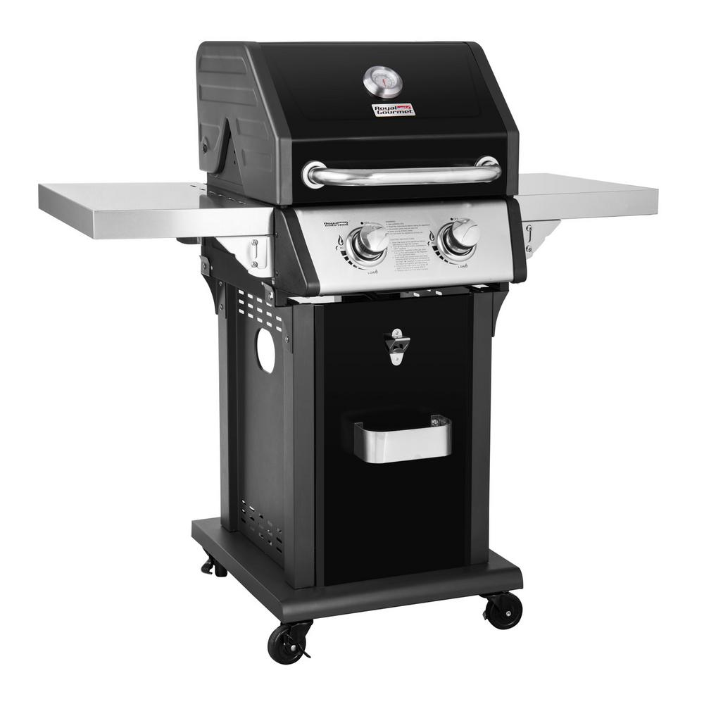 Royal gourmet deluxe burner patio propane gas grill in