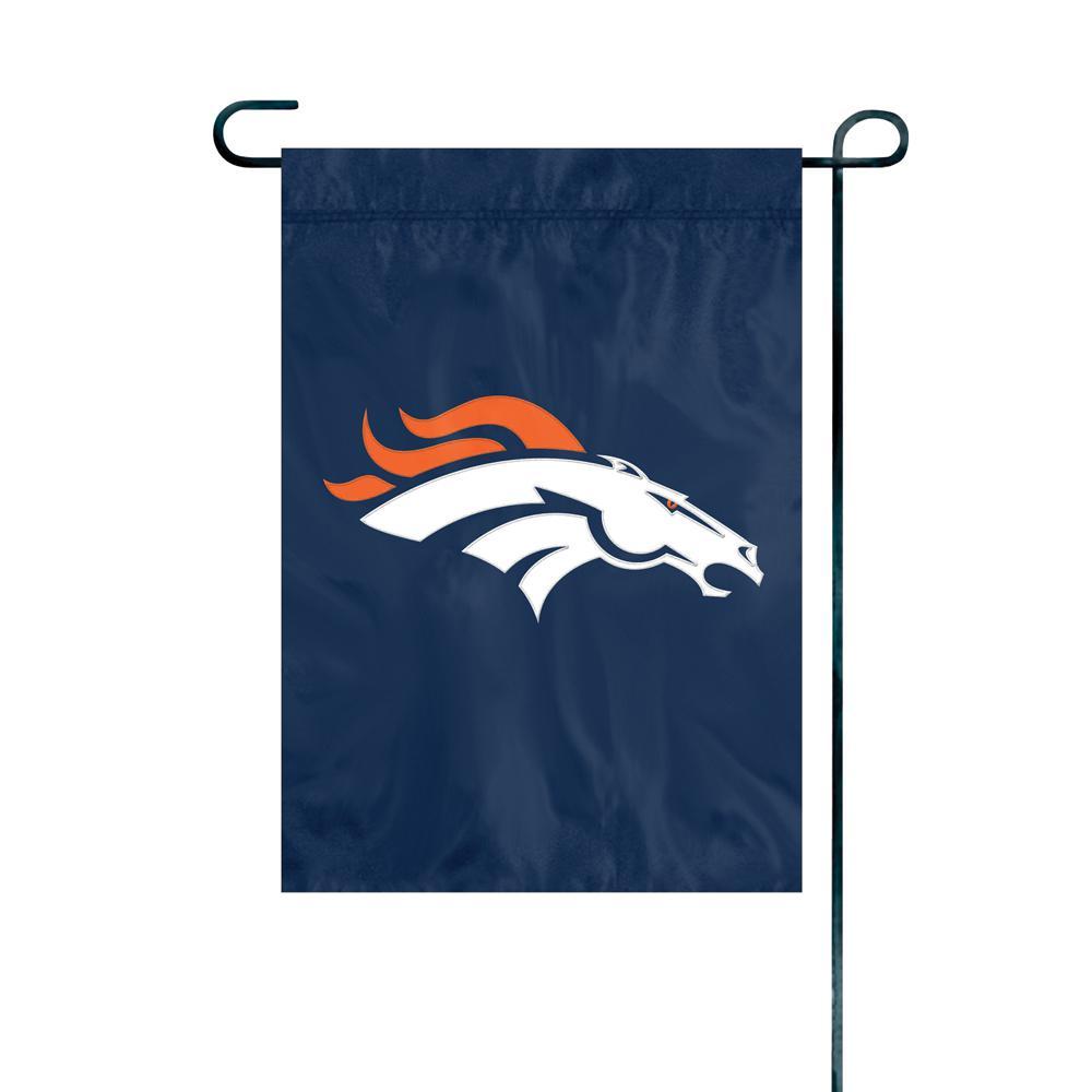 Denver Broncos Premium Garden Flag