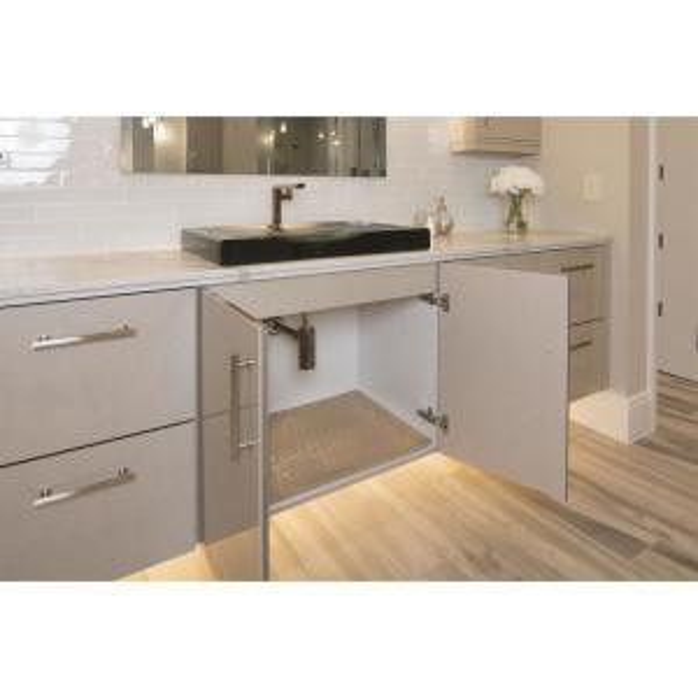 Magnificent Xtreme Mats 27 5 8 In X 18 7 8 In Beige Bathroom Vanity Download Free Architecture Designs Crovemadebymaigaardcom