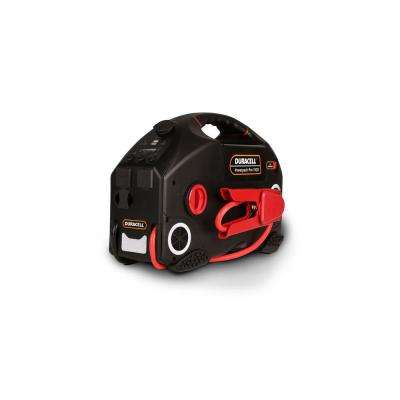 1100-Amps Peak Power Jump Starter with Air Compressor