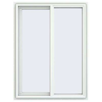 35.5 in. x 47.5 in. V-4500 Series Left-Hand Sliding Vinyl Windows - White
