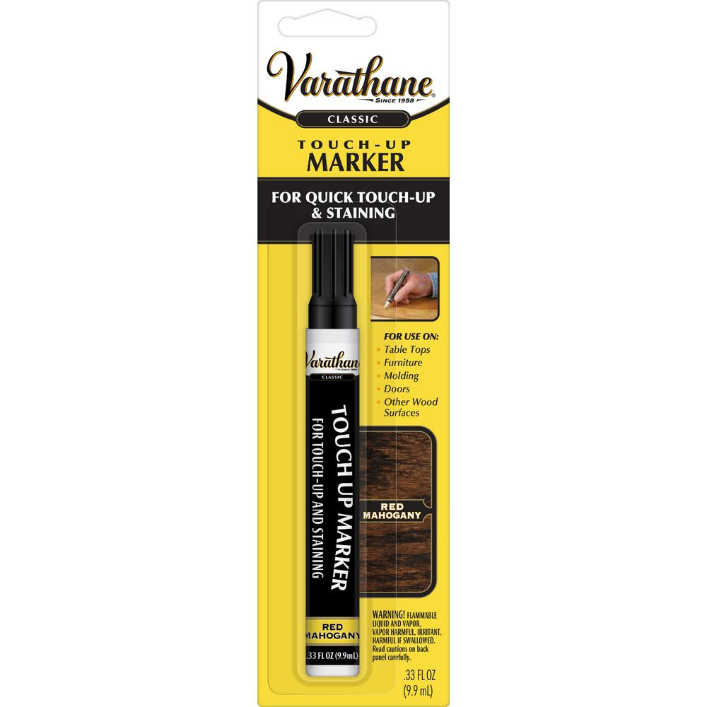 Varathane 13 Oz Red Mahogany Wood Stain Touch Up Marker 8 Pack