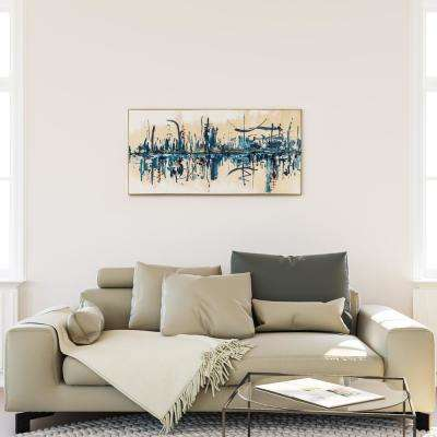 """24 in. x 48 in. """"The Gathering"""" by Ashleigh Fleenor Hand Painted Framed Canvas Wall Art"""