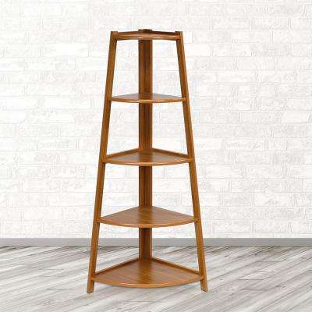 Yaotai Cherry Corner Ladder Shelf