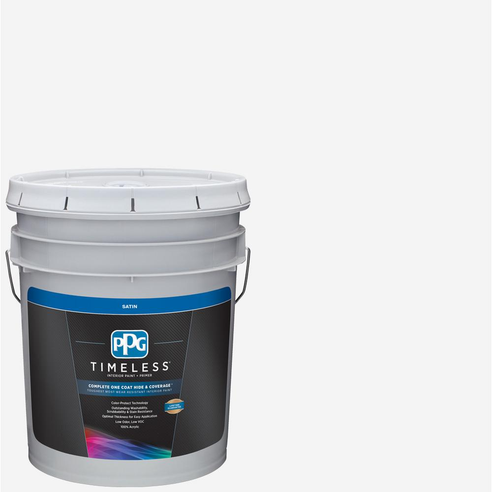 Pure White Base 1 Satin Interior Paint With Primer