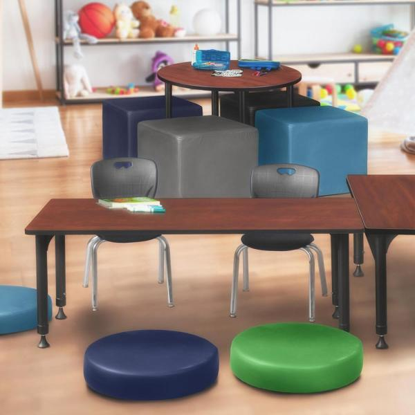 Regency Rumel 60 In X 30 In H Cherry Adjustable Classroom Table Hdr6030chap The Home Depot