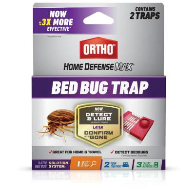 Home Defense Max Bed Bug Trap (2-Pack)