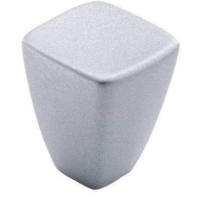 Creased Bow 7/8 in. (22 mm) Anodized Aluminum Cabinet Knob