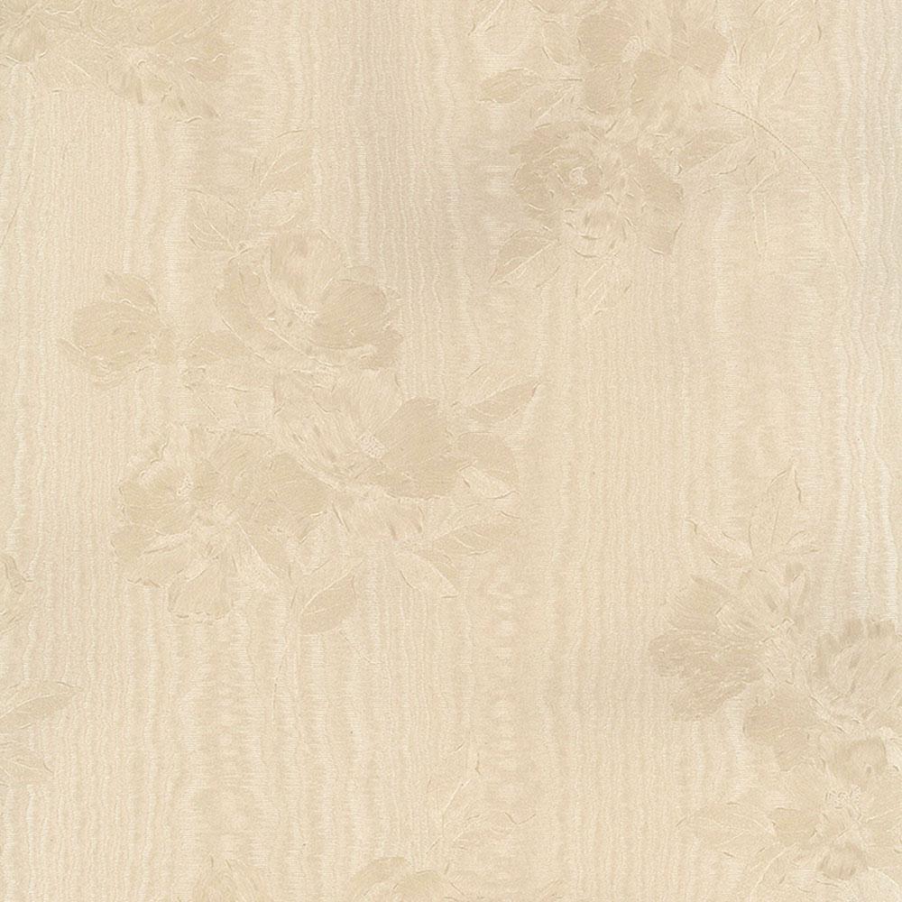 In Register Floral Moir Wallpaper