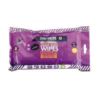 Rough and Smooth Heavy Duty Wet Wipe - Flow Pack of Spunlace Rough and Smooth Beaded Wipes (40-Count)