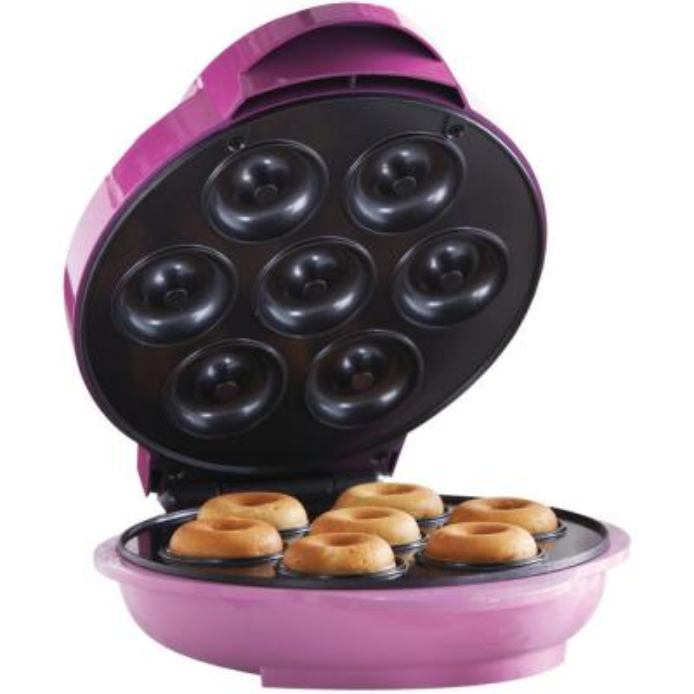 750 W Pink Electric Food Maker (Mini Donut Maker) Nonstick