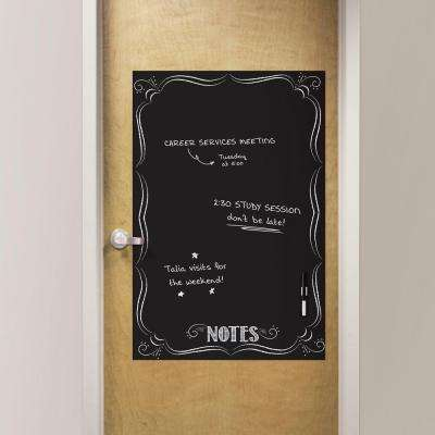 26 in. x 39 in. Bistro Notes Giant Novelty Dry Erase Decal