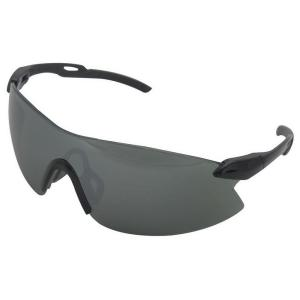 ERB Strikers Eye Protection Black Temple and Silver Mirror Lens by ERB