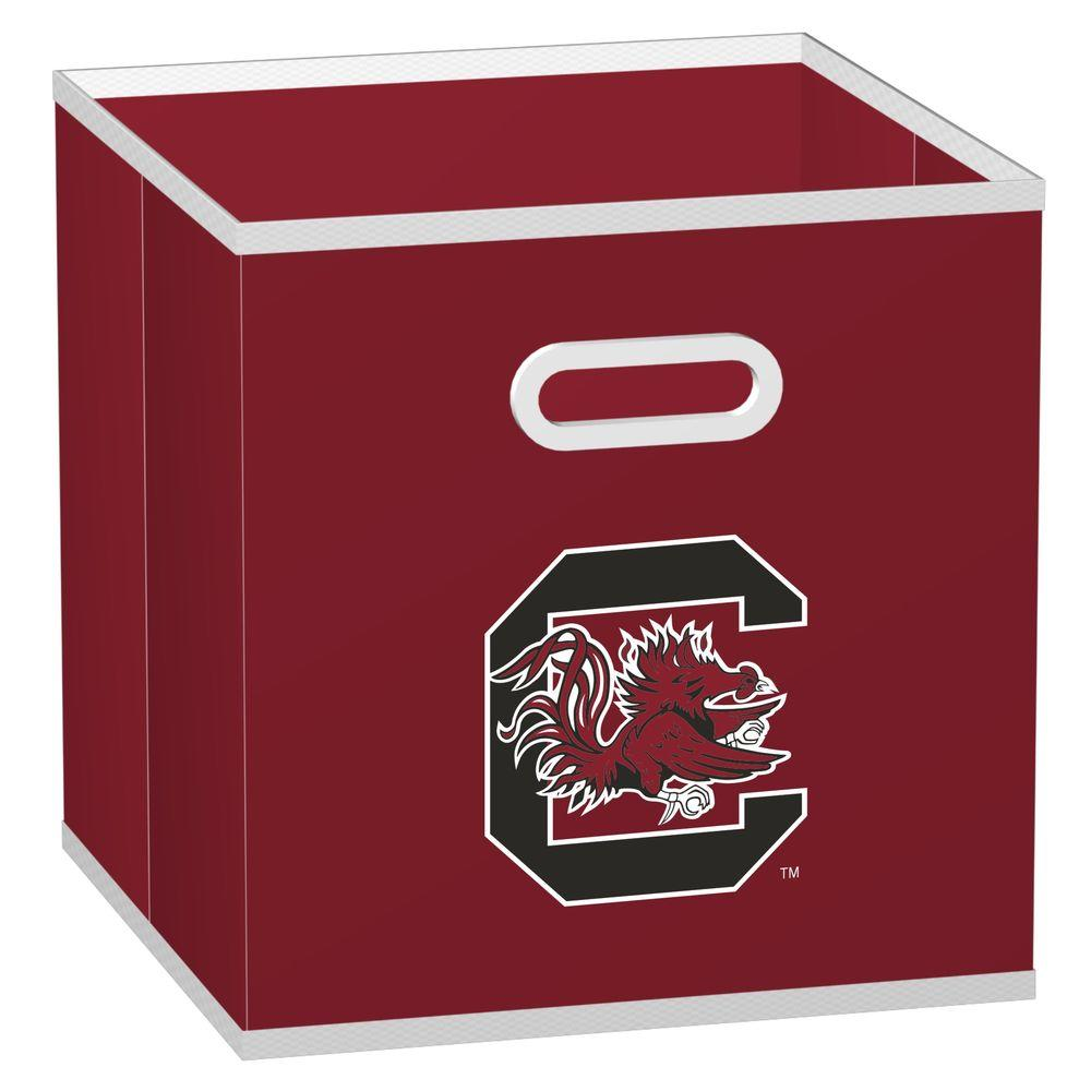 MyOwnersBox College Storeits University of South Carolina 10-1/2 in. x 11 in. Red Fabric Storage Drawer