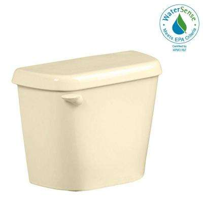 Colony 1.28 GPF Single Flush Toilet Tank Only for 12 in. Rough in Bone with Aquaguard Liner