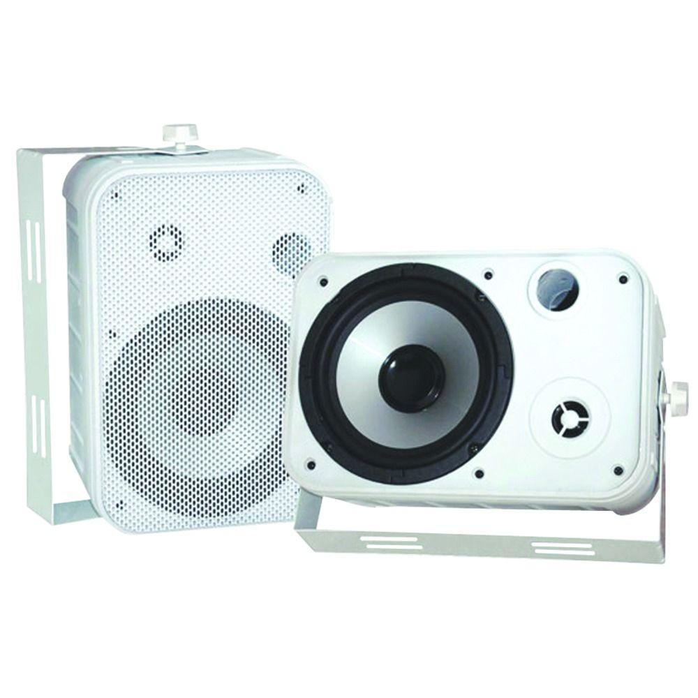 Pyle 6.5 in. Indoor/Outdoor Waterproof Speaker