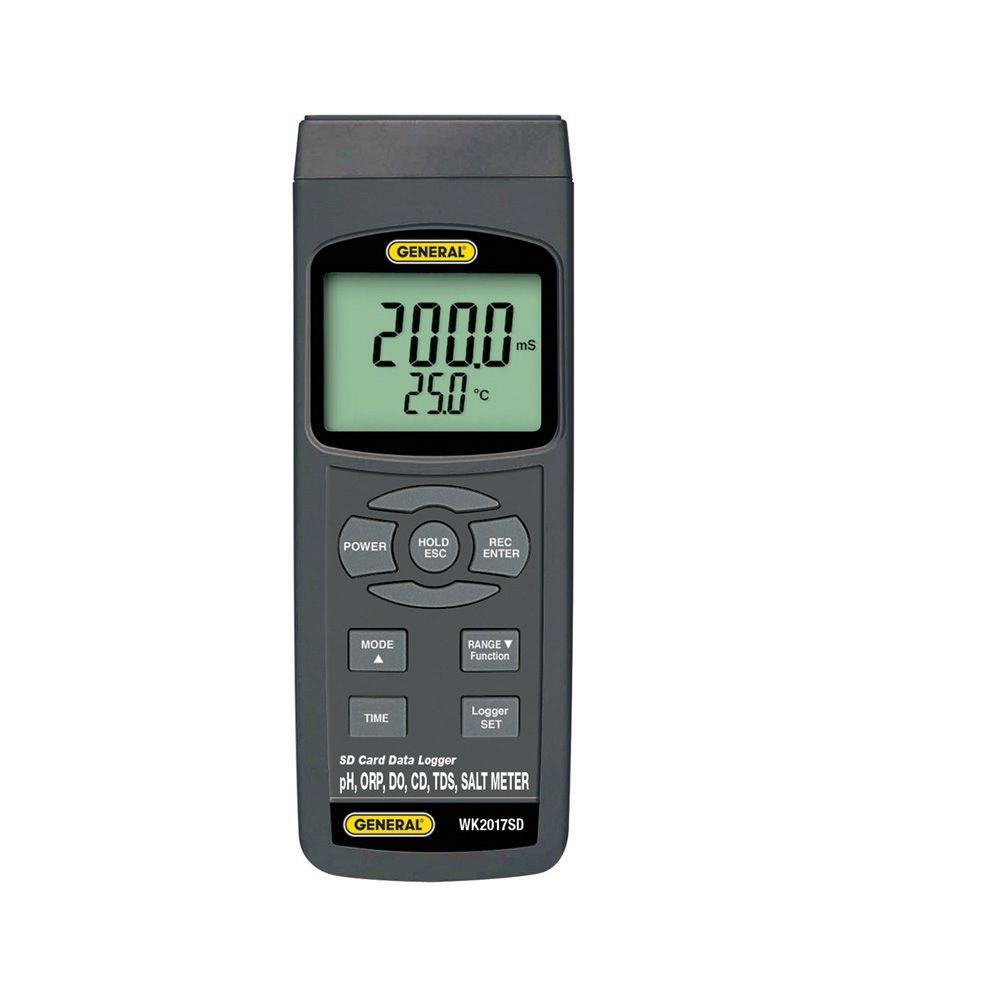 General Tools Data Logging Water Analysis Meter