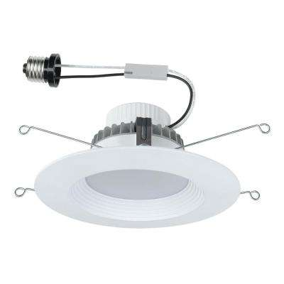 6 in. White Integrated LED Recessed Kit